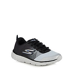Skechers - Boys' grey 'go run 400' trainers
