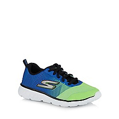 Skechers - Boys' multicoloured 'go run 400' trainers