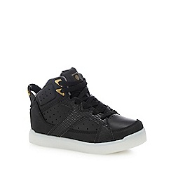 Skechers - Kids' black 'E-Pro Street Quest' light up trainers