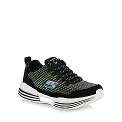 Skechers - Kids' black 'luminators' light up trainers