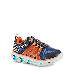Skechers - Kids' orange 'Hypno-Flash 2.0' light up trainers