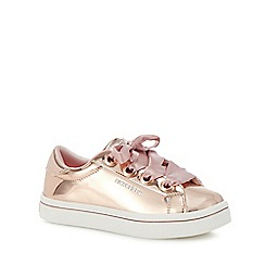 Skechers - Kids' gold 'Hi-Lite' trainers