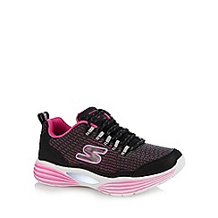 Skechers - Kids' pink 'luminators luxe' light up trainers
