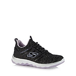 Skechers - Girls' black 'Diamond Runner' trainers