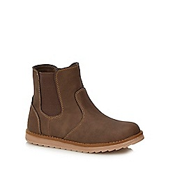 bluezoo - Boys' brown Chelsea boots