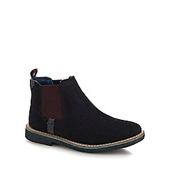 Baker by Ted Baker - Kids' black suede Chelsea boots