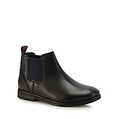 Baker by Ted Baker - Kids' black leather Chelsea boots