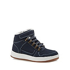 bluezoo - Kids' navy trainer boots