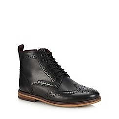 Baker by Ted Baker - Kids' Black Leather Brogue Boots