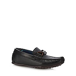 Baker by Ted Baker - Black leather driver shoes