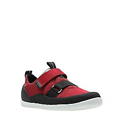 Clarks - Boys' red 'Play Pioneer' shoes