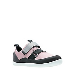 Clarks - Girls' pink 'Play Pioneer' shoes