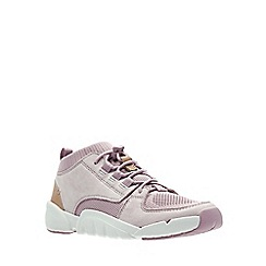 Clarks - Girls' pink 'Tri Lunar' sports trainers