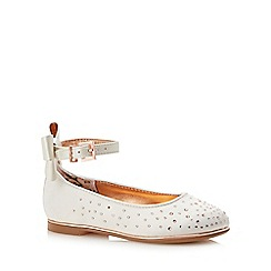 Baker by Ted Baker - Girls' Ivory Diamante Pumps