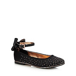 Baker by Ted Baker - Girls' Black Diamante Pumps