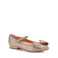 Baker by Ted Baker - Girls' Pink Glitter Pumps