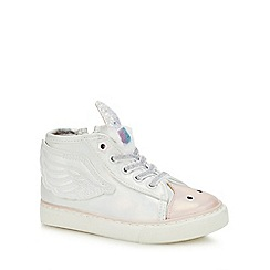 bluezoo - Kids' White Unicorn Trainers