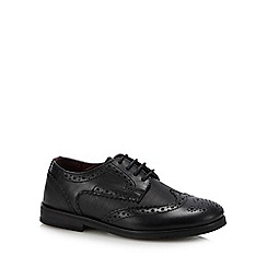 Baker by Ted Baker - Boys' Black Leather Brogues
