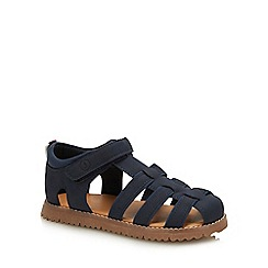 J by Jasper Conran - Boys' Navy Fisherman Sandals