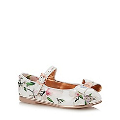 Baker by Ted Baker - Girls' White Floral Pumps