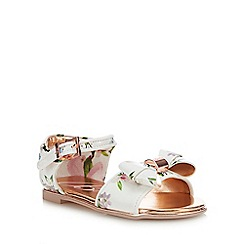 Baker by Ted Baker - Girls' White Floral Sandals