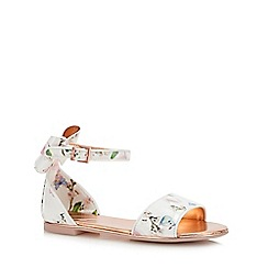 Baker by Ted Baker - Girls' Ivory Floral 'Harmony' Pumps