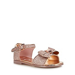 Baker by Ted Baker - Girls' Light Gold Glitter Sandals