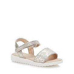 bluezoo - Girls' Gold 'Wannabe' Sandals