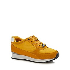 Baker by Ted Baker - Boys' yellow 'runner' trainers
