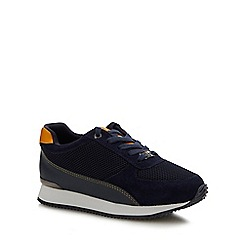 Baker by Ted Baker - Boys' navy 'runner' trainers