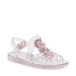 bluezoo - Girls' Pink Seacorn Jelly Sandals