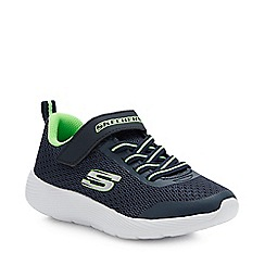Skechers - Kids' Navy 'Dyna-Lite' Trainers