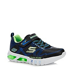 Skechers - Black 'Flex-Glow' Light Up Trainers