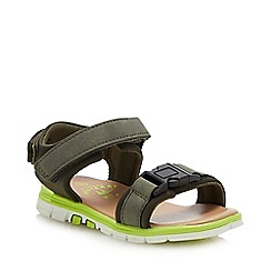 Mantaray - Boys' Khaki 'Action' Sandals