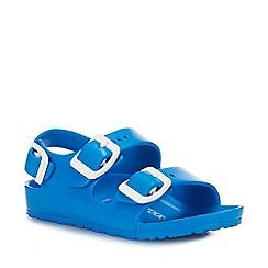 Birkenstock - Kids' Blue 'Milano Eva' Sandals