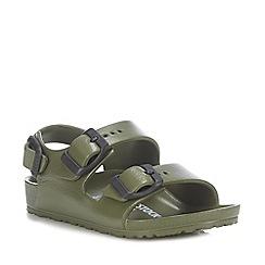 Birkenstock - Kids' Khaki 'Milano Eva' Sandals