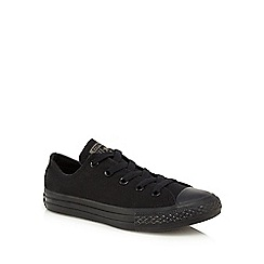 Converse - Boys' black 'All Star' casual shoes