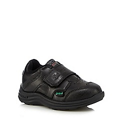 Kickers - Boys' black leather shoes