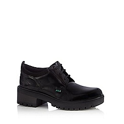 Kickers - Girls' black 'Mando' shoes