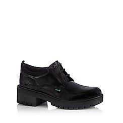 Kickers - Girls' black 'Mando' shoes