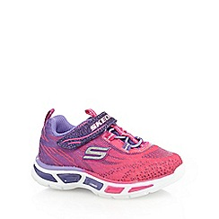 Skechers - Girls' pink ombre light up trainers