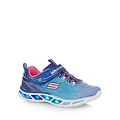 Skechers - Girls' ombre 'S-Lights' trainers