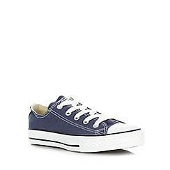 Converse - Childrens's navy 'All Star' trainers