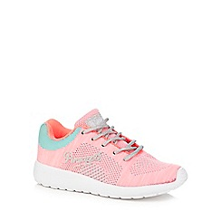 Pineapple - Girls' pink lace-up trainers