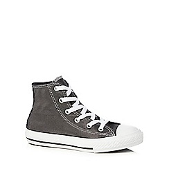 Converse - Girls' black 'All Star' trainers