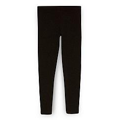 bluezoo - Girl's black stretch leggings