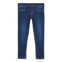 bluezoo - Girls' blue denim jeggings