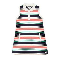 J by Jasper Conran - Girls' multi-coloured striped tennis dress