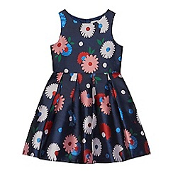 J by Jasper Conran - Girls' navy floral dress