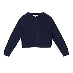 bluezoo - Girls' navy cardigan